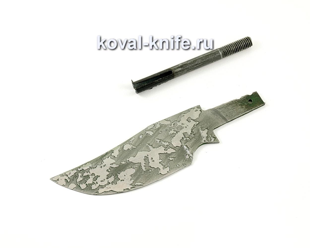 Клинок для ножа Бекас (кованая сталь 95Х18, травление)