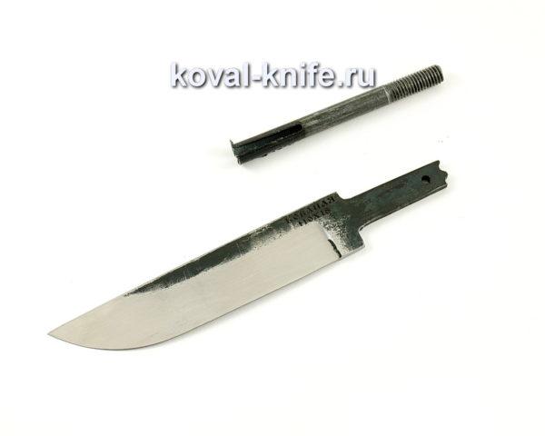 клинок для ножа Белка из кованой стали 110х18