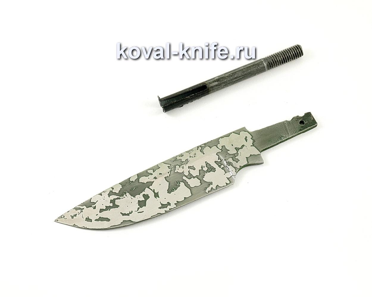 Клинок для ножа Бигзод-мини (кованая сталь 95Х18, травление)