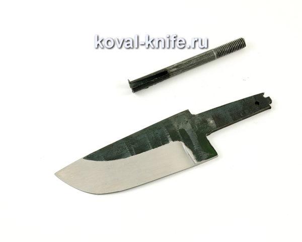 клинок для ножа Бобр из кованой стали 110х18 МШД
