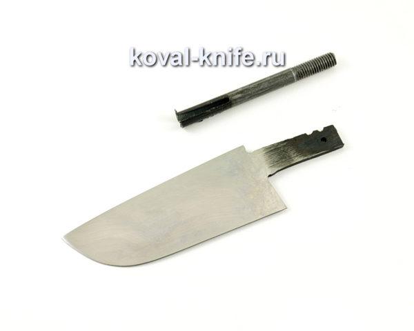 клинок для ножа Бобр из кованой стали 95х18