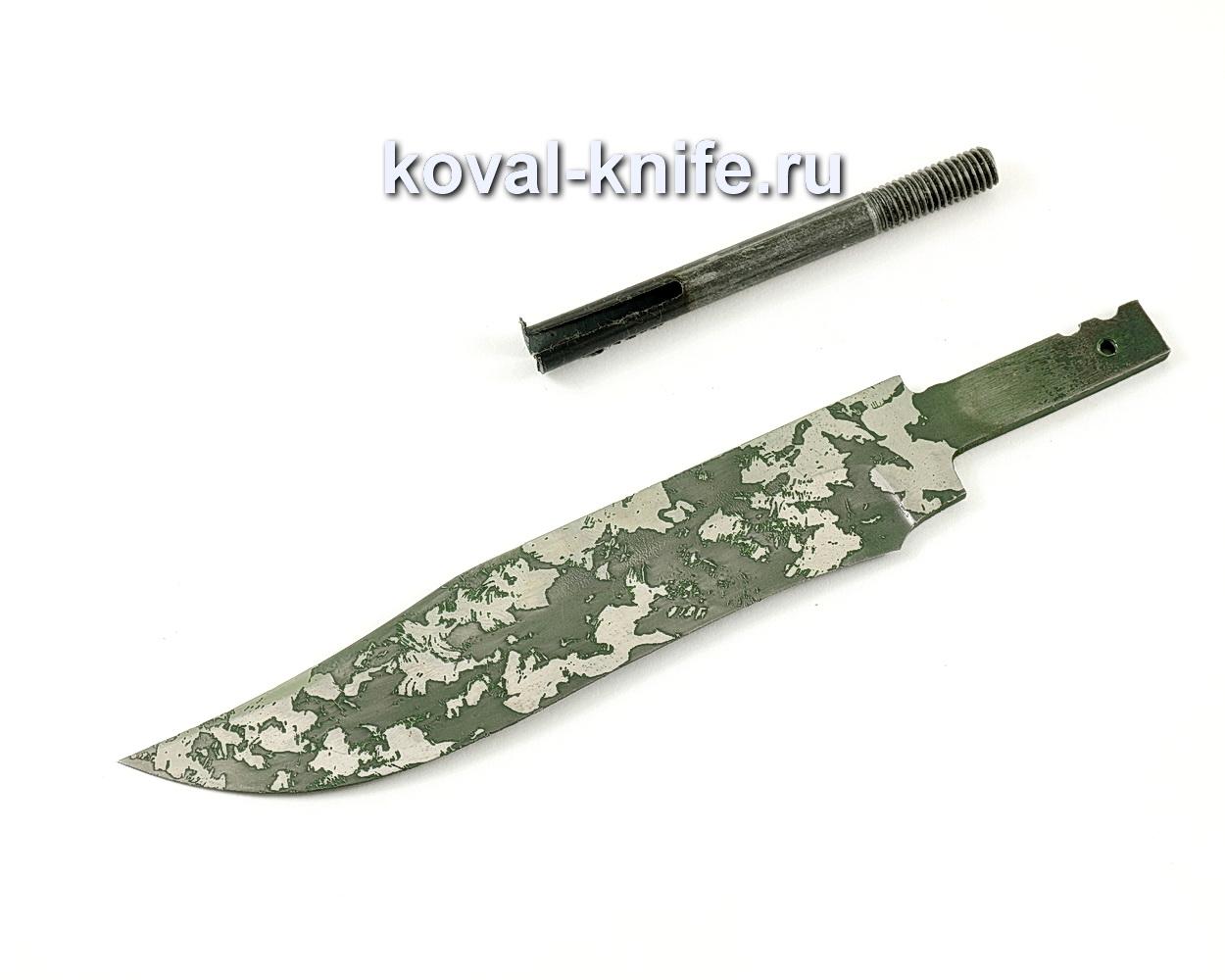 Клинок для ножа Викинг (кованая сталь 95Х18, травление)