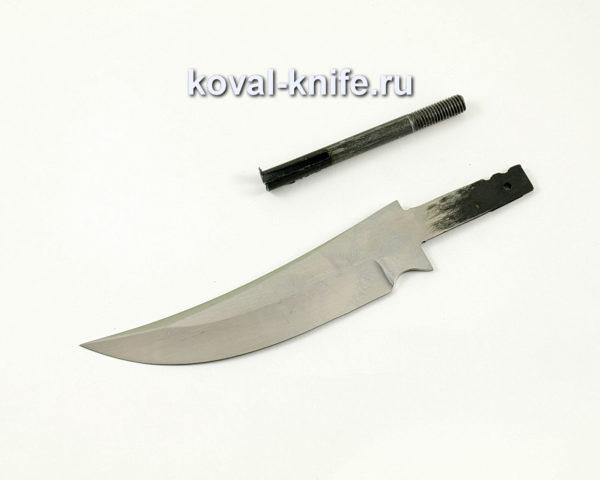 клинок для ножа Ворон из кованой стали 95х18