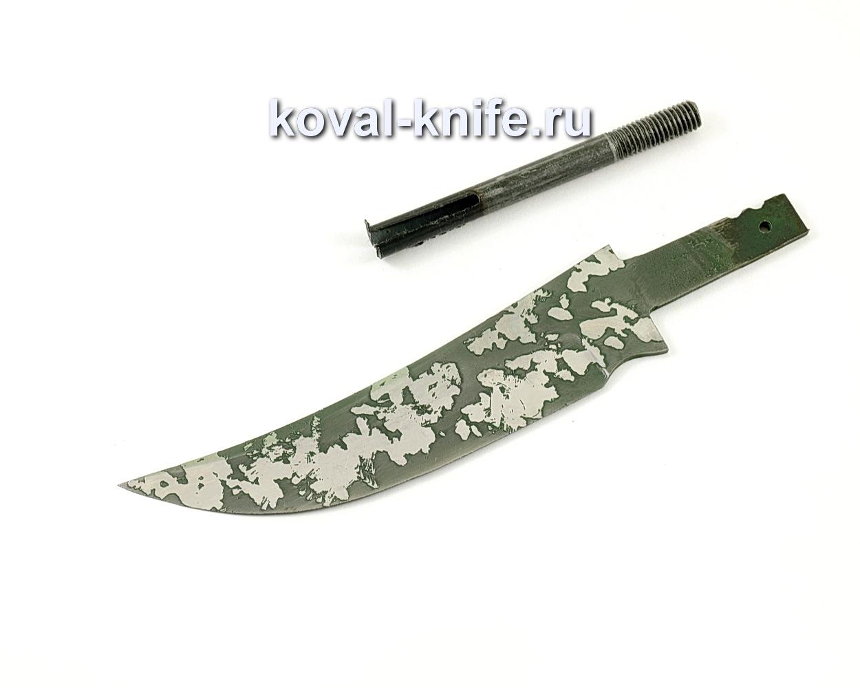 Клинок для ножа Ворон (кованая сталь 95Х18, травление)