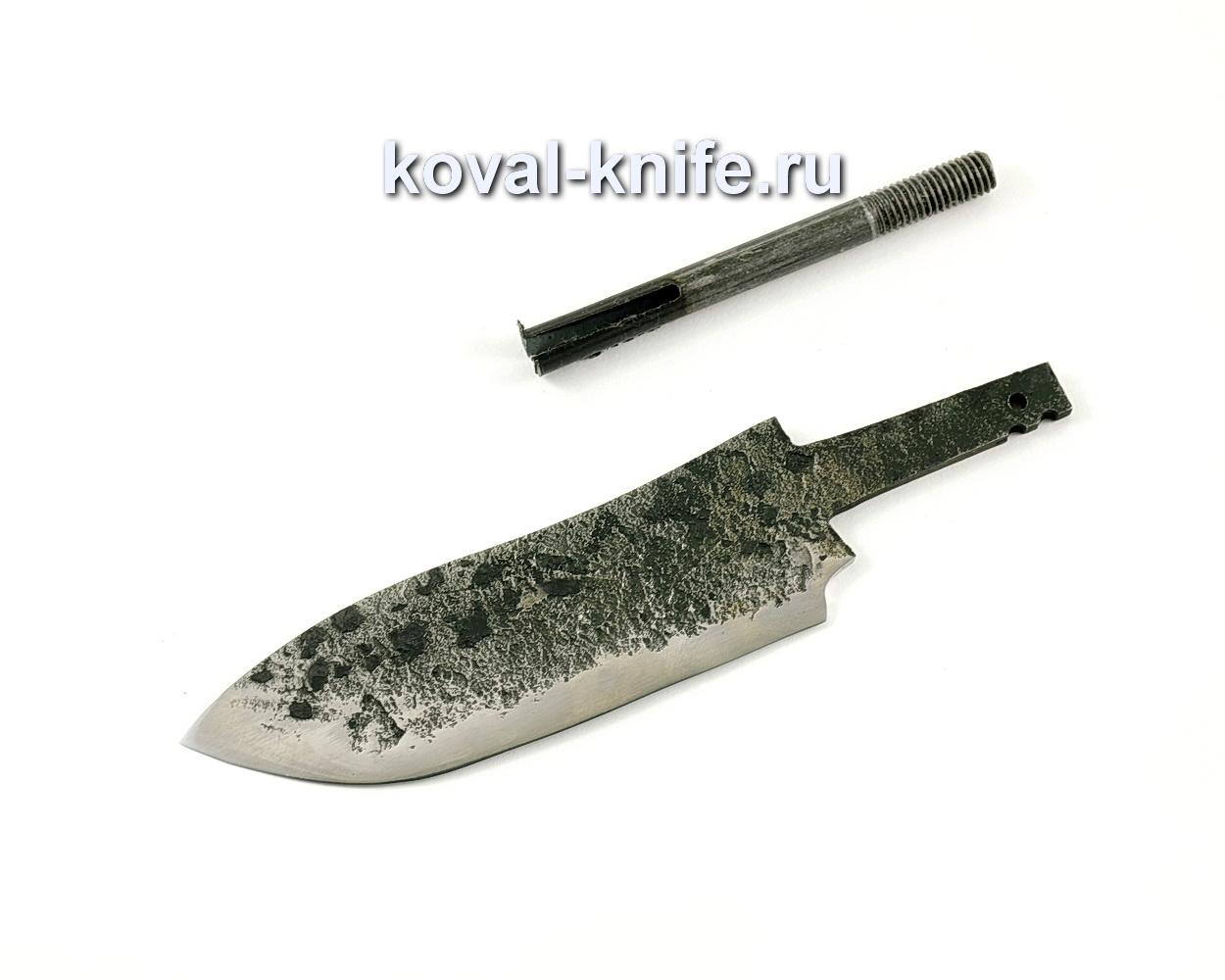 Клинок для ножа из кованой стали 9ХС Кабан