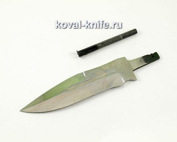 клинок для ножа Антитеррор из кованой стали 95х18