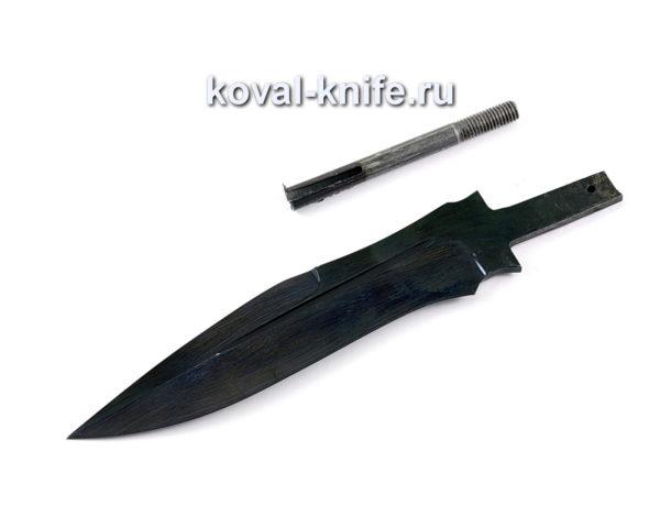 клинок для ножа из кованой стали У10 Антитеррор