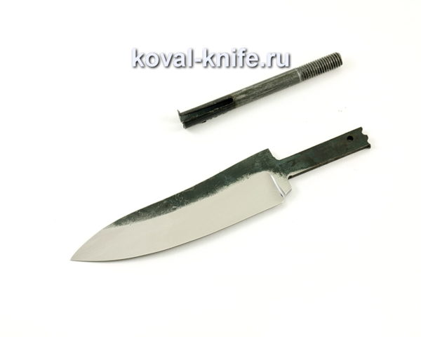 клинок для ножа Лань из кованой стали 110х18 МШД