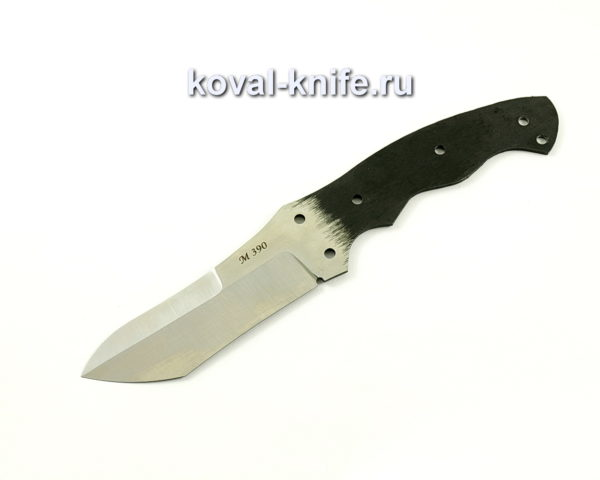 цельнометаллический клинок для ножа из порошковой стали M390 ЦМ1