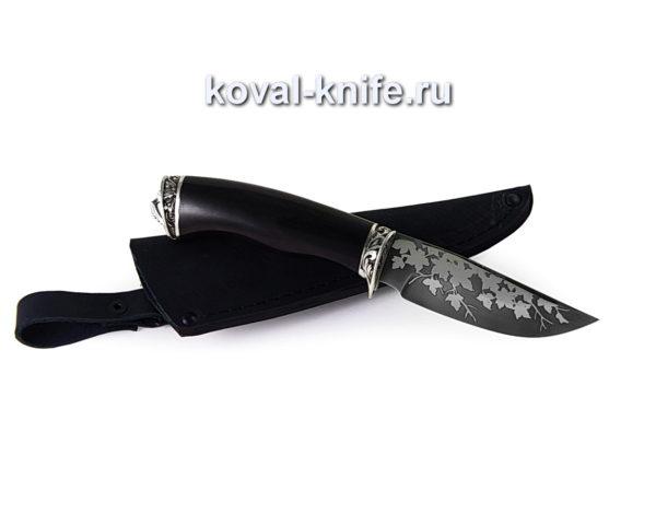 Нож Норвег из кованой стали 95х18 с травлением