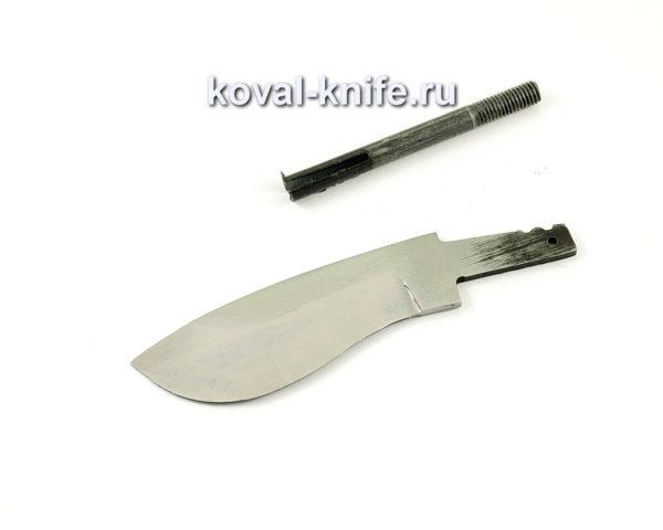 клинок для ножа Носорог из кованой стали 95х18