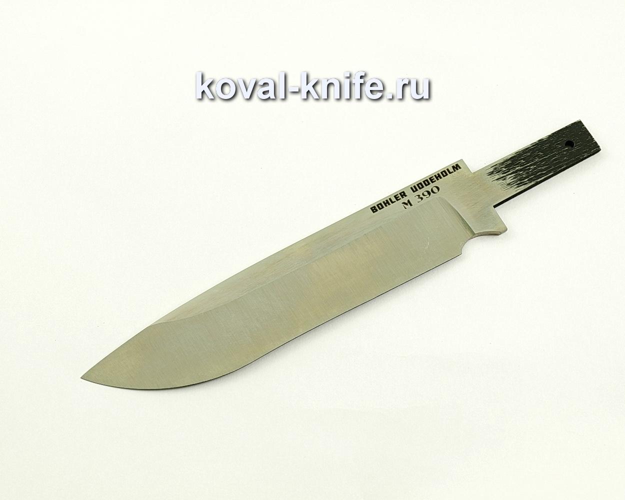 Клинок для ножа из порошковой стали M390 Турист
