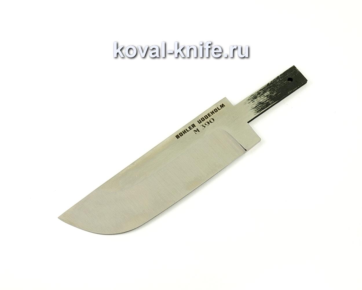 Клинок для ножа из порошковой стали M390 Пегас