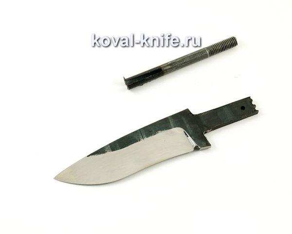 клинок для ножа Сапсан из кованой стали 110х18 МШД