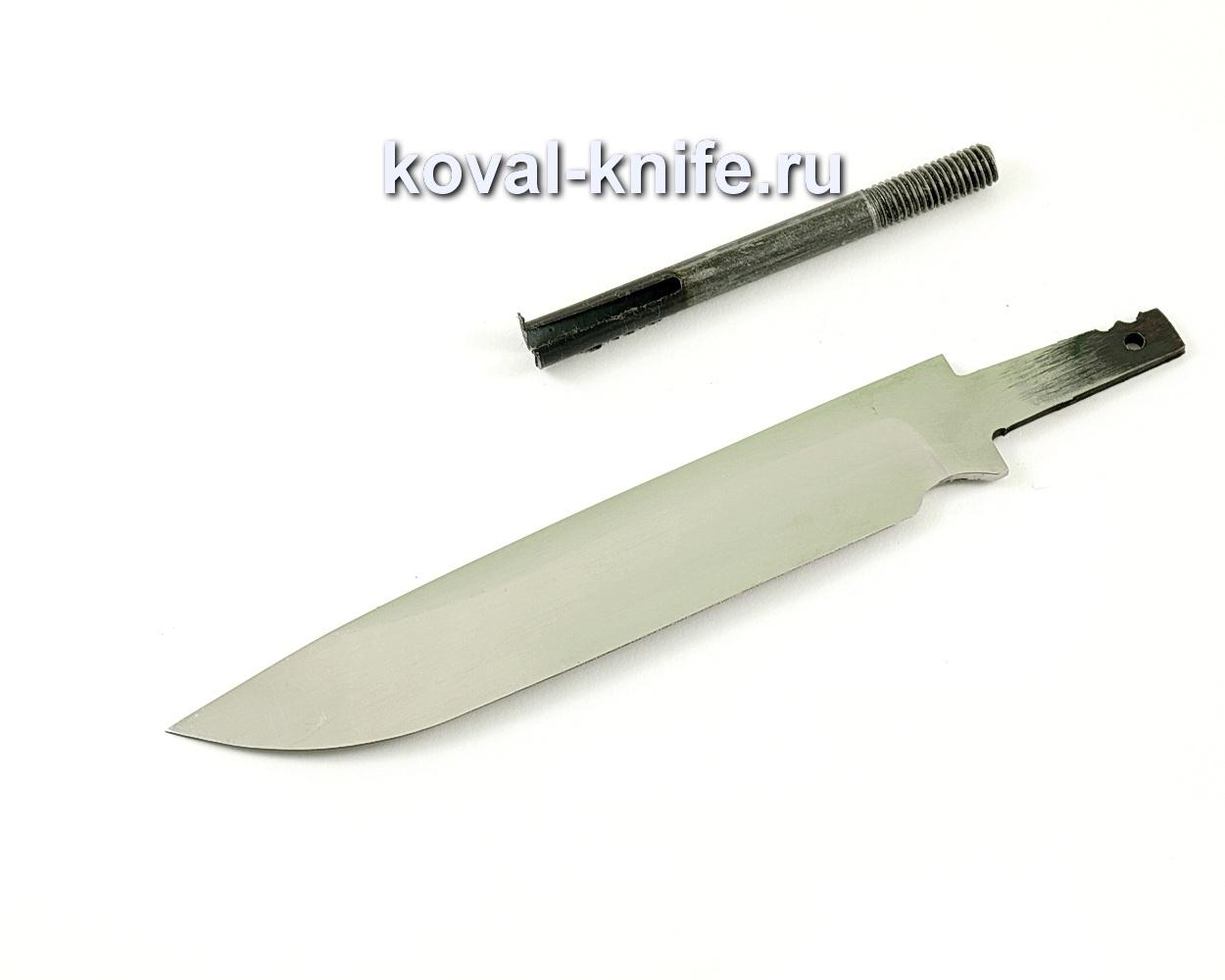 Клинок для ножа Турист (кованая сталь 95Х18)