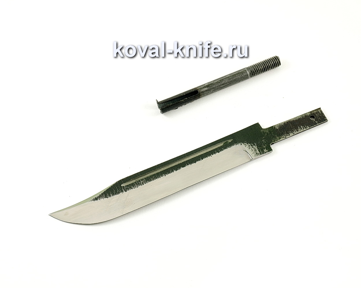 Клинок для ножа НР40 из кованой стали 110Х18 МШД Штрафбат