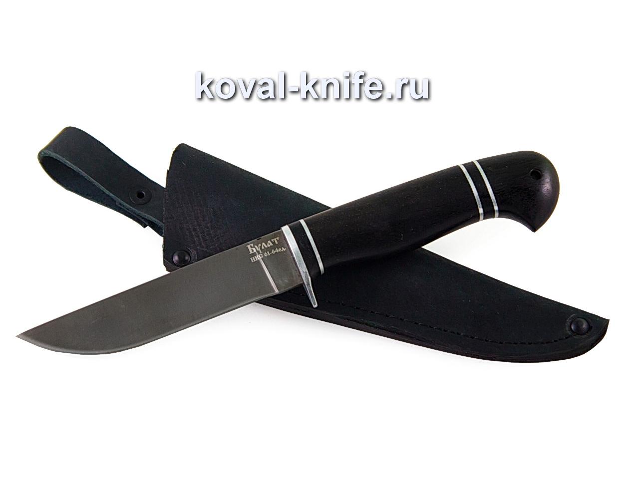 Нож из булатной стали Белка (рукоять граб) A377