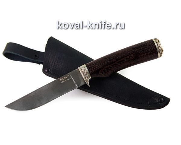 нож из булатной стали Белка с рукоятью из венге