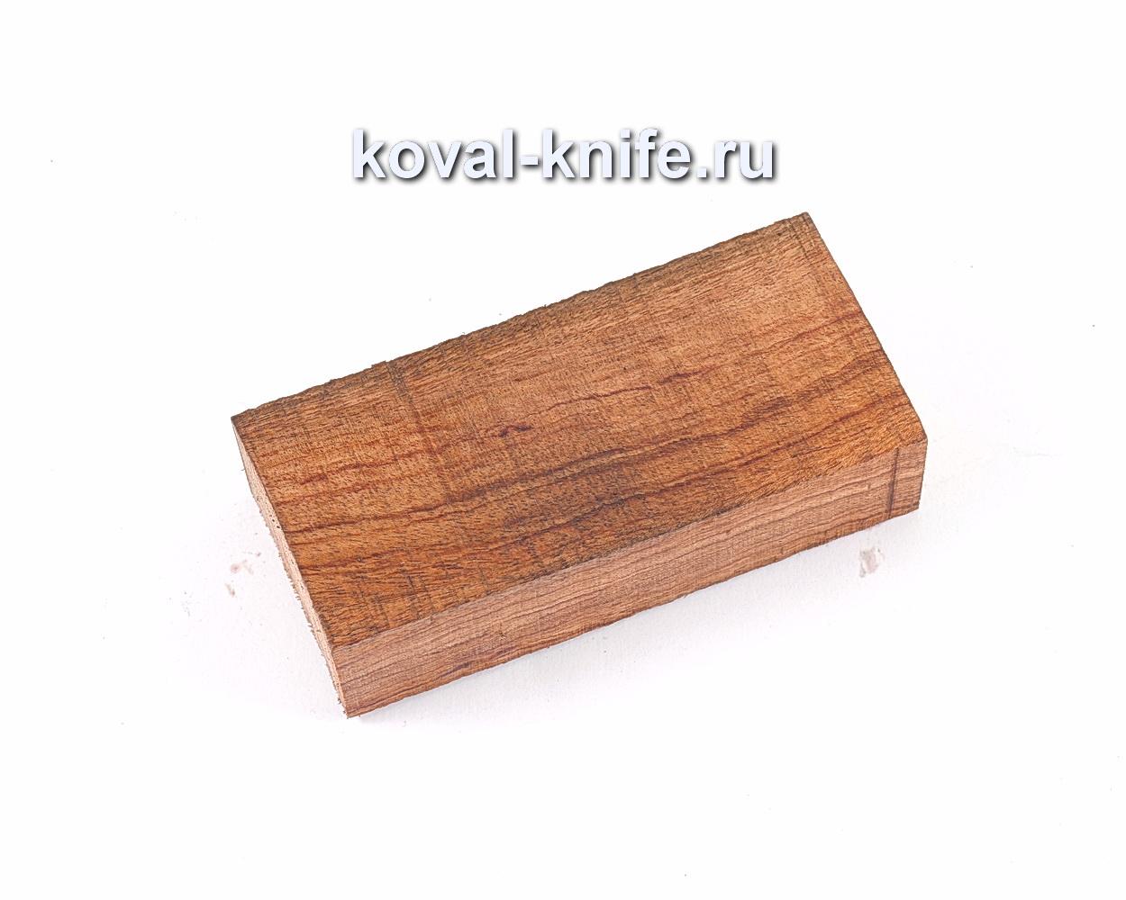 Брусок Бубинга для рукоятки ножа