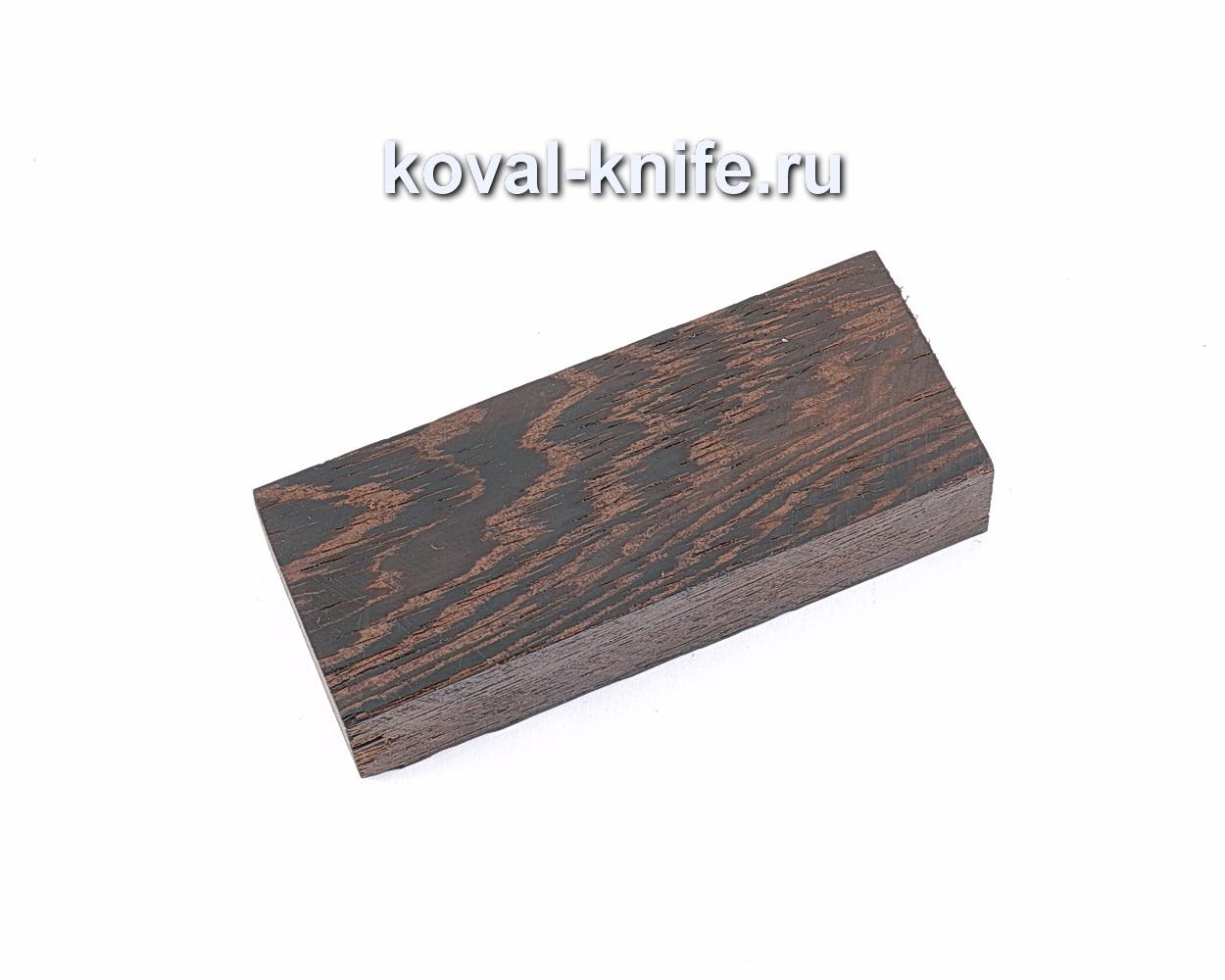 Брусок Венге для рукоятки ножа