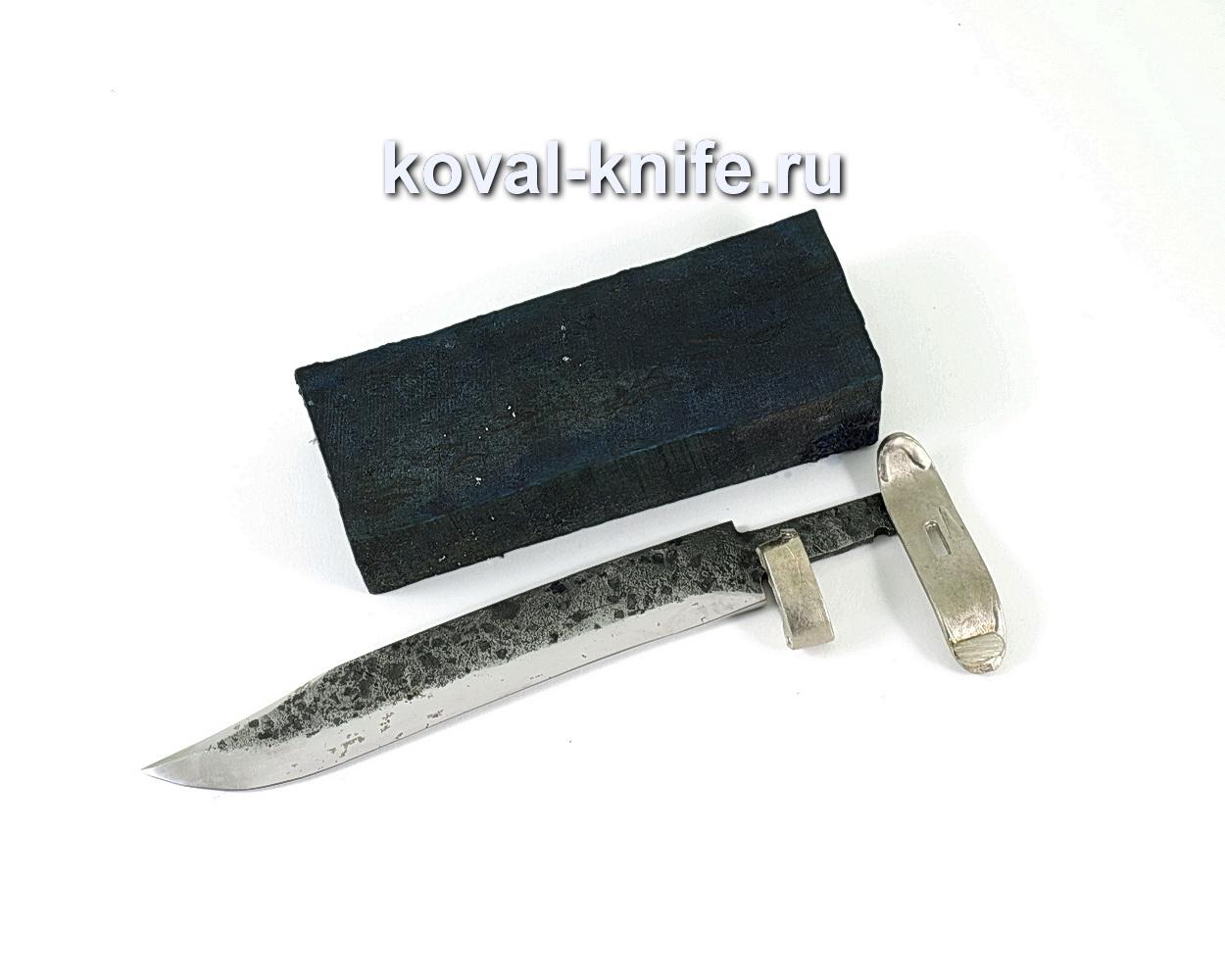 Комплект для ножа НР-40 7 (клинок кованая 9ХС 3,5-5мм, литье 2шт., граб брусок)
