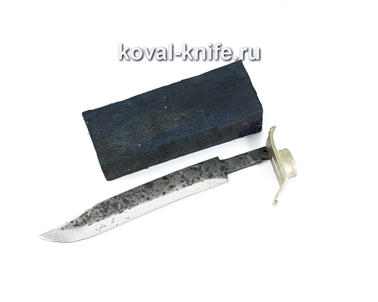 Комплект для ножа НР-40 8 (клинок кованая 9ХС 3,5-5мм, литье 1шт., граб брусок)