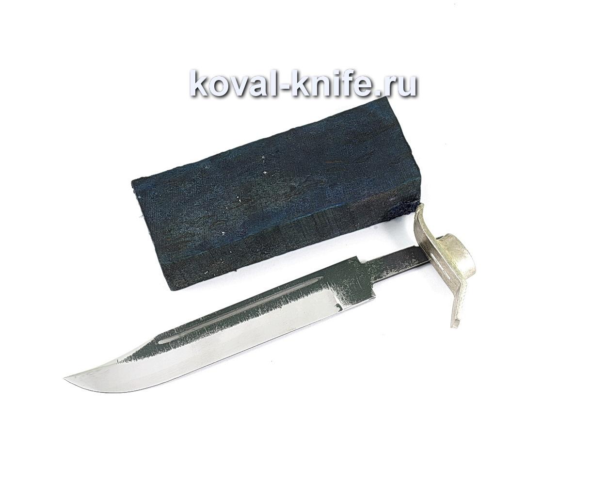 Комплект для ножа НР-40 5 (клинок кованая 110х18 3,5-5мм, литье 1шт., граб брусок)