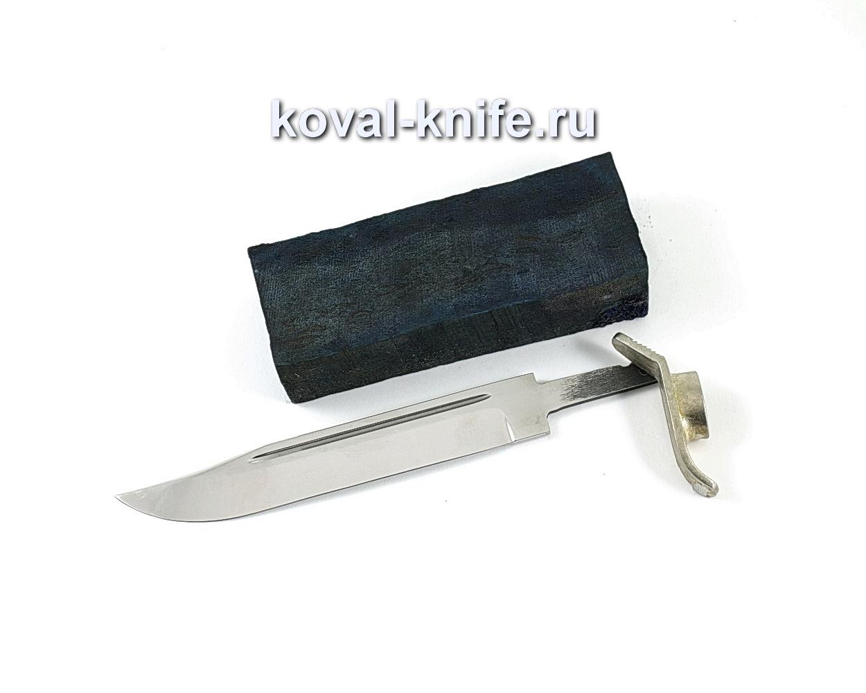 Комплект для ножа НР-40 4 (клинок кованая 95х18 2,4мм, литье 1шт., граб брусок)