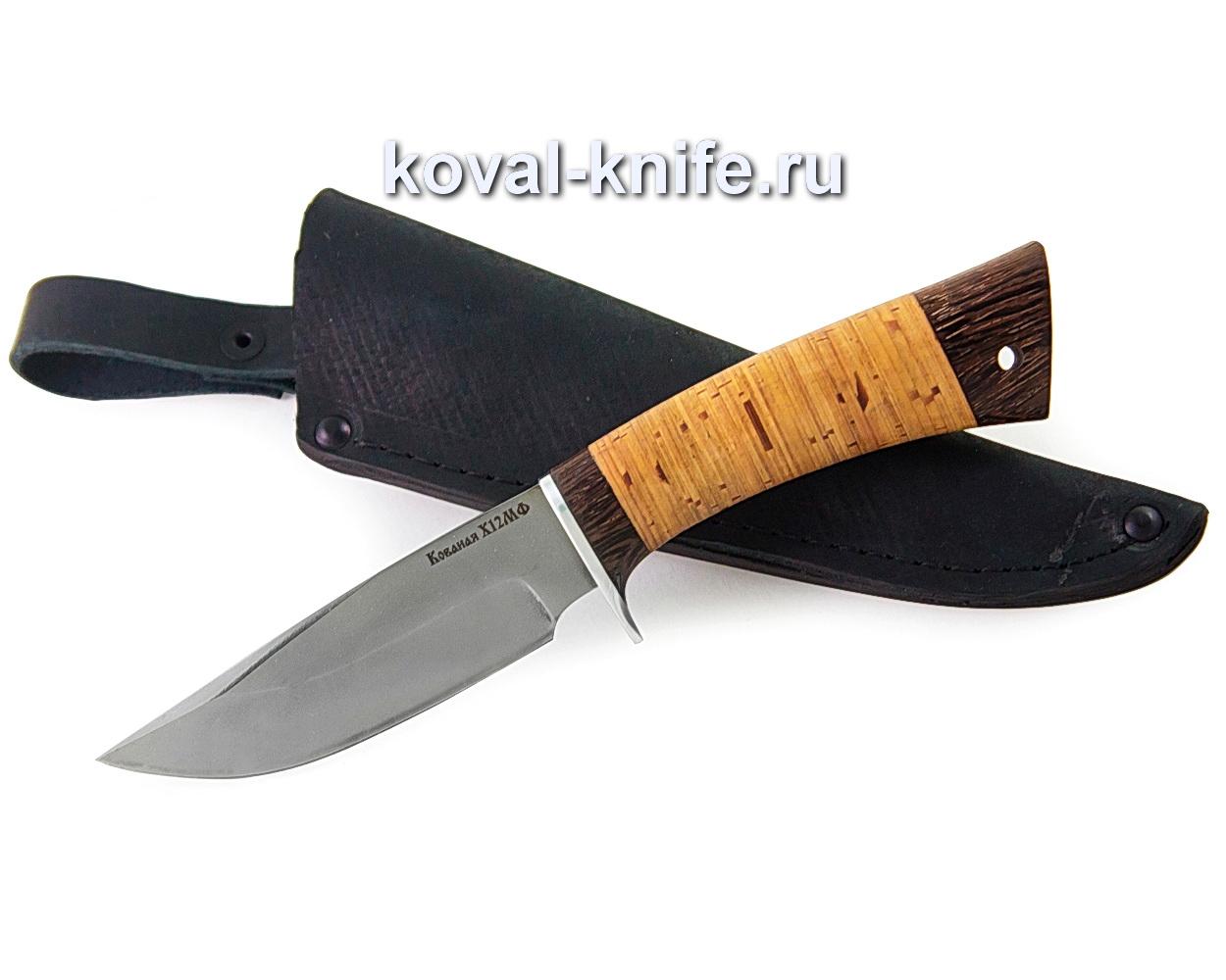 Нож Норвег из стали х12мф (рукоять береста)