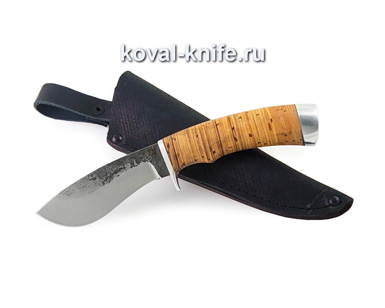 Нож Носорог из стали х12мф (рукоять береста)