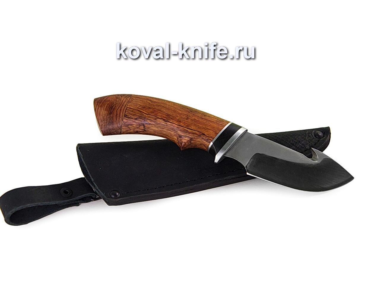 Нож Стропорез из стали У10А (рукоять орех) A362