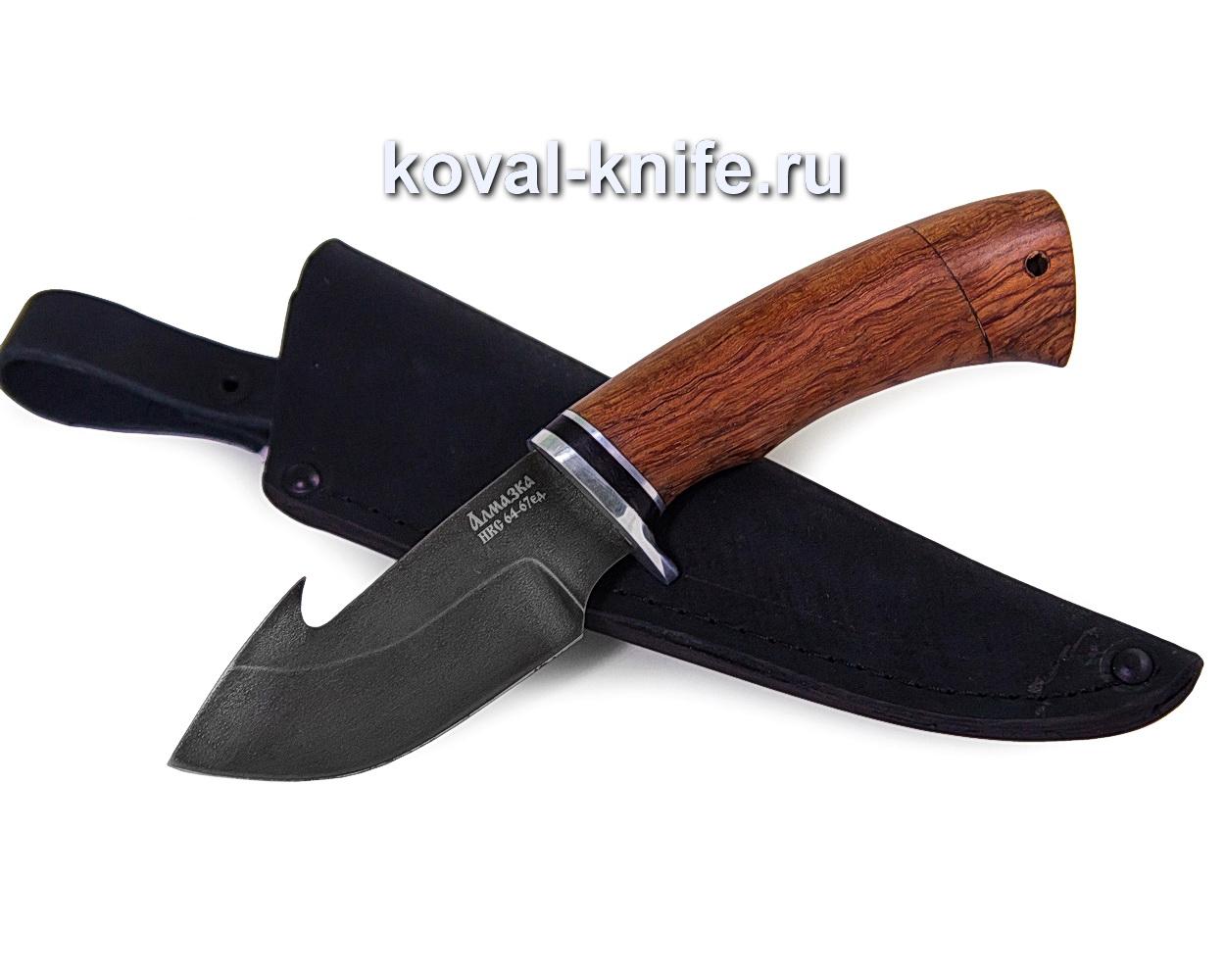 Нож из алмазной стали Стропорез (хв5, рукоять орех) A336
