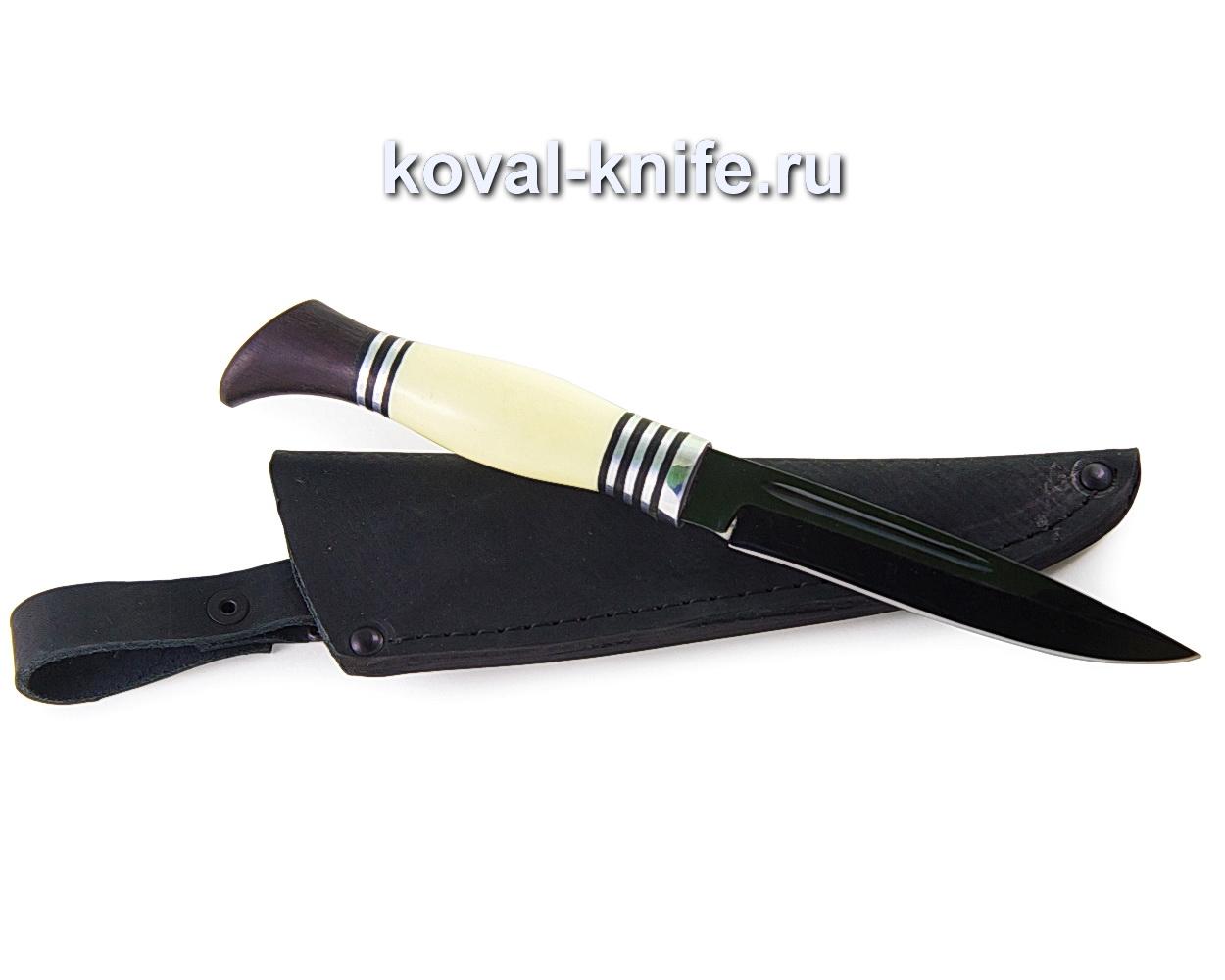 Нож Финка Нквд из углеродистой стали У10 (рукоять пластик, граб) A363