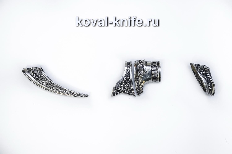 Комплект литья для ножа с ножнами 25