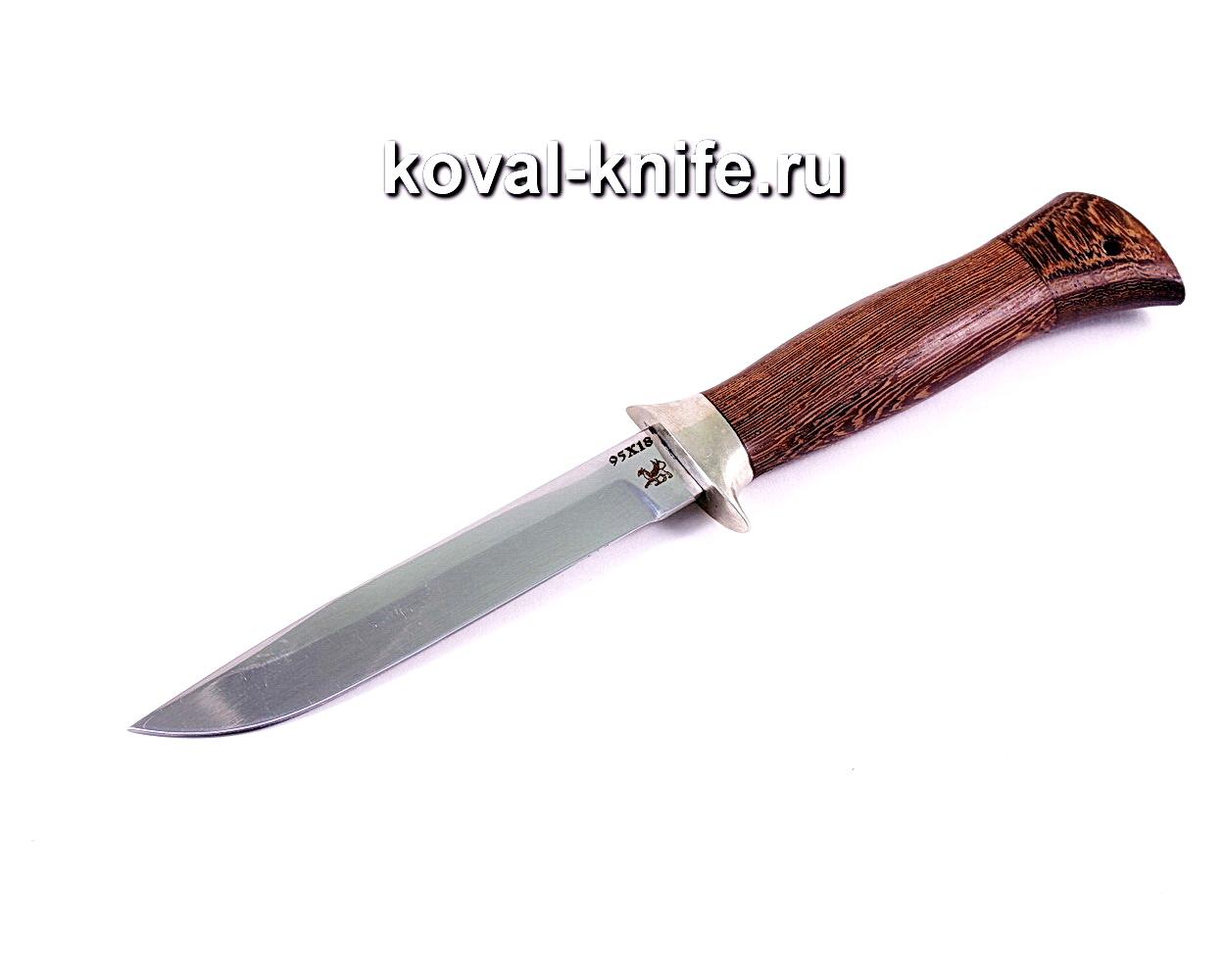 Нож Турист-3 (сталь 95х18), рукоять венге, литье A116