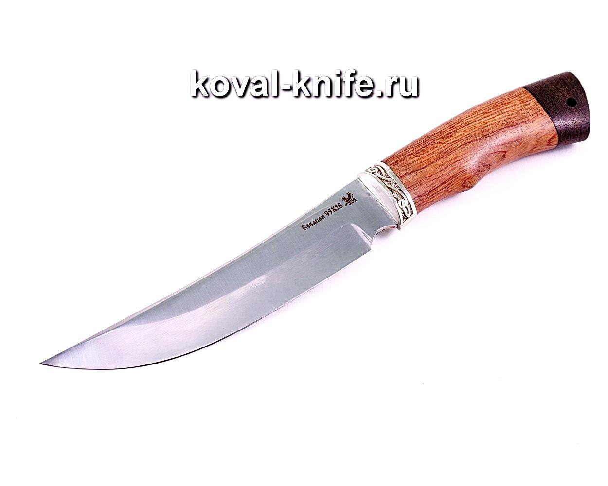 Нож Клыч (сталь 95х18), рукоять бубинга, венге A114