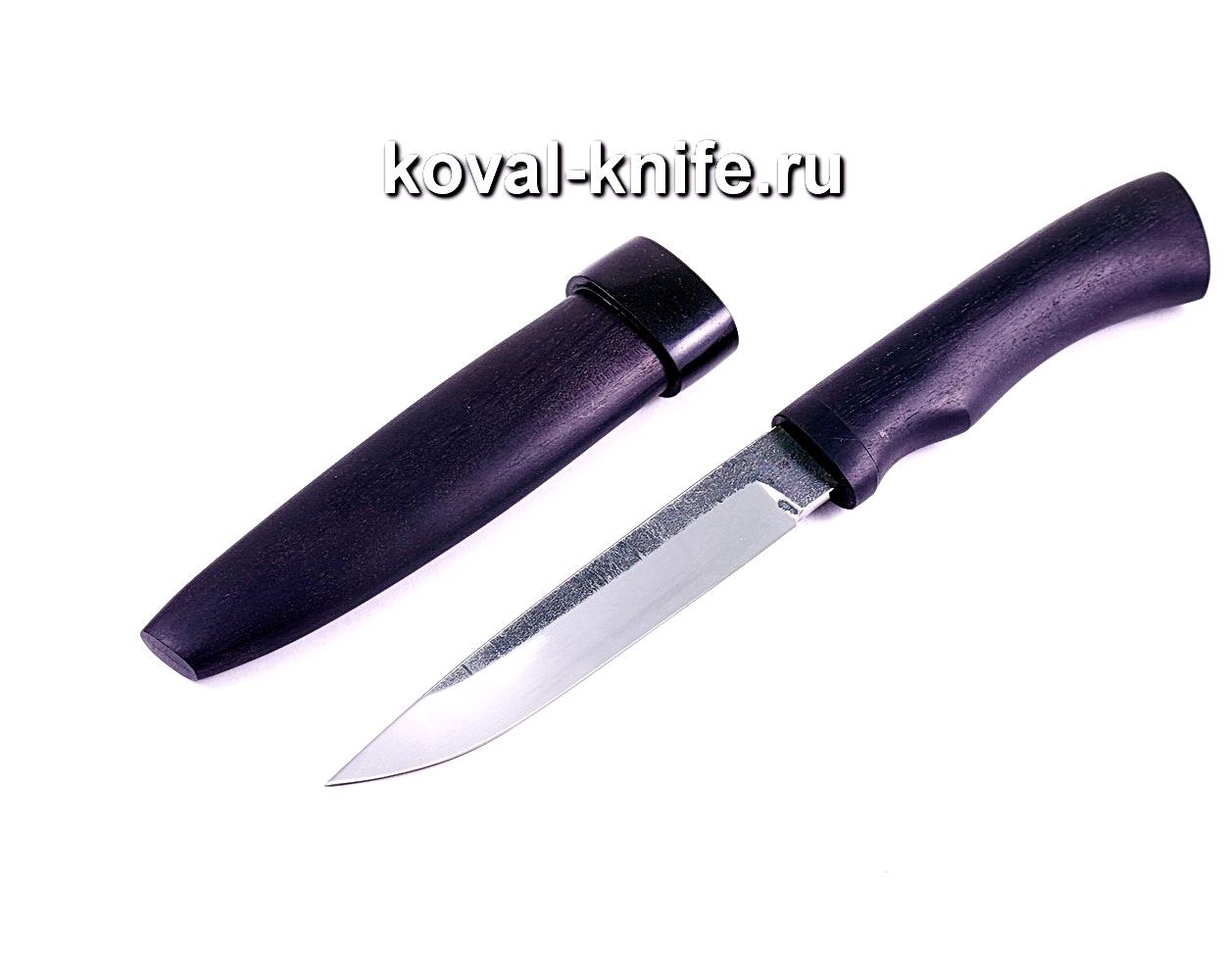 Нож Турист (сталь 95х18), рукоять и ножны граб A019