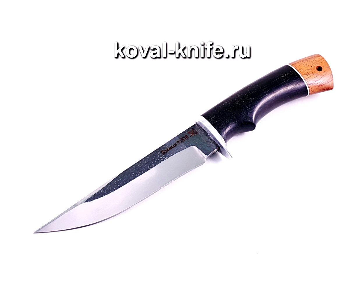 Нож Лис (сталь 95х18), рукоять граб, бубинга A012
