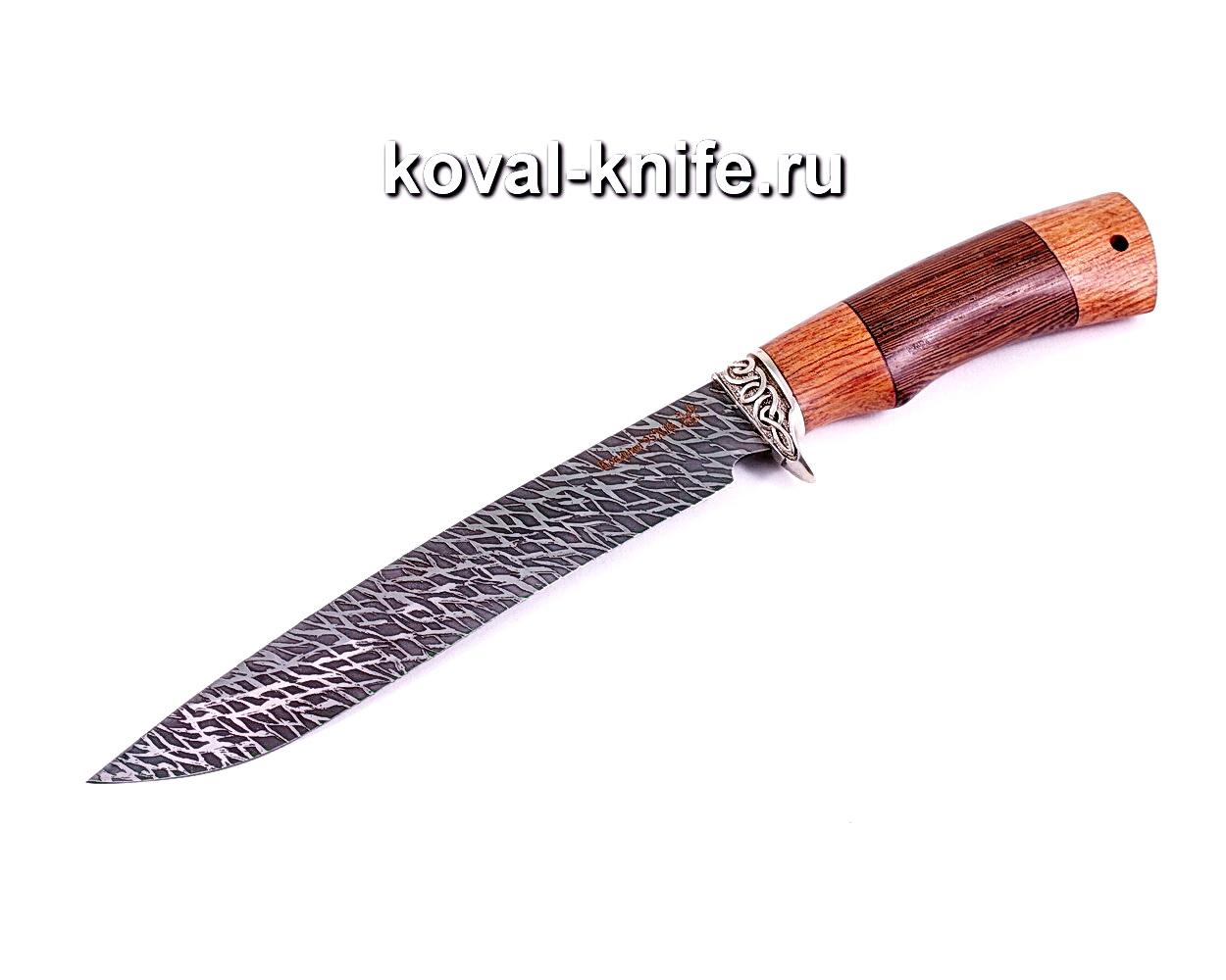 Нож Свинорез (сталь 95х18), рукоять бубинга, венге, литье A009