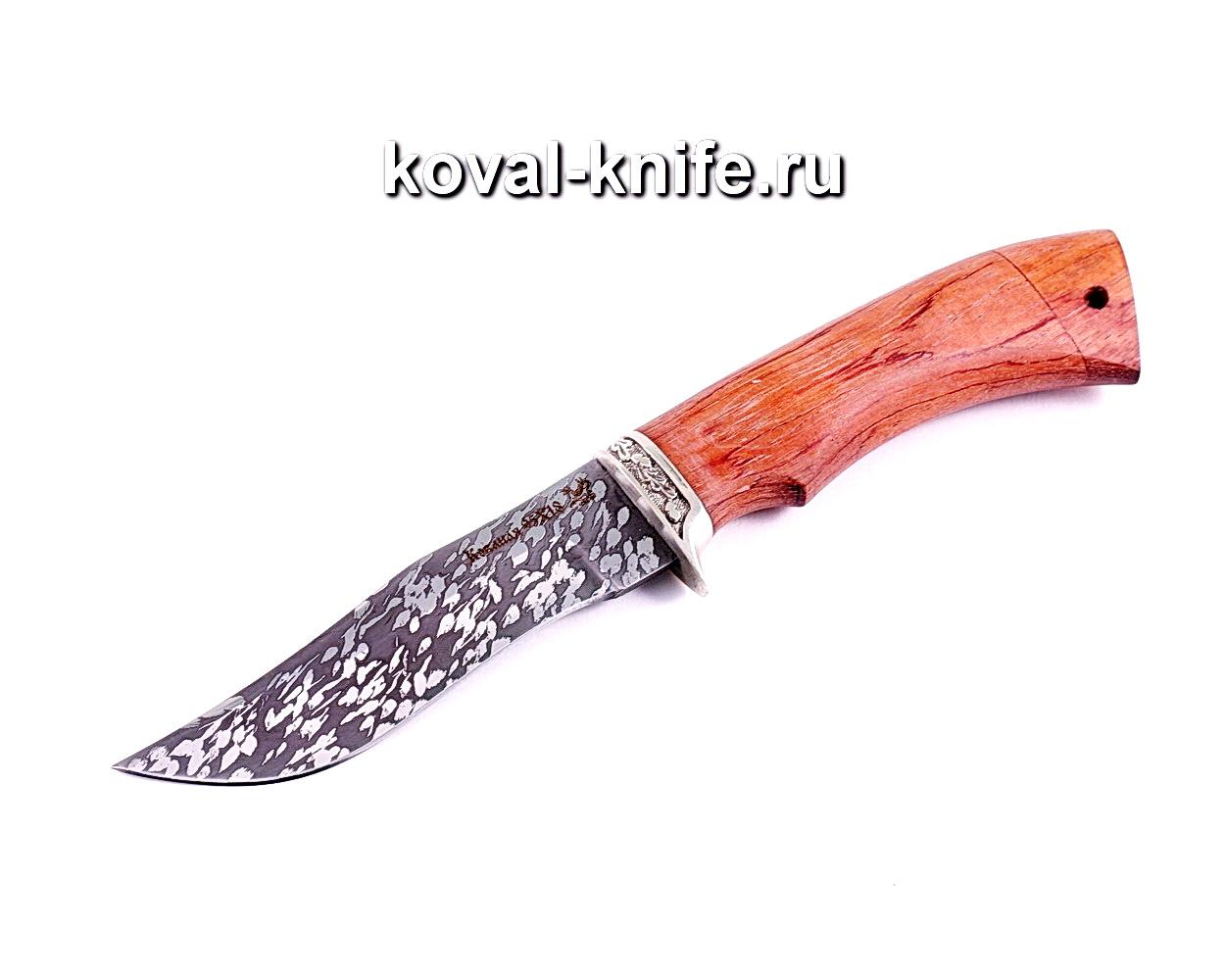 Нож Охотничий (сталь 95х18), рукоять бубинга, литье A008