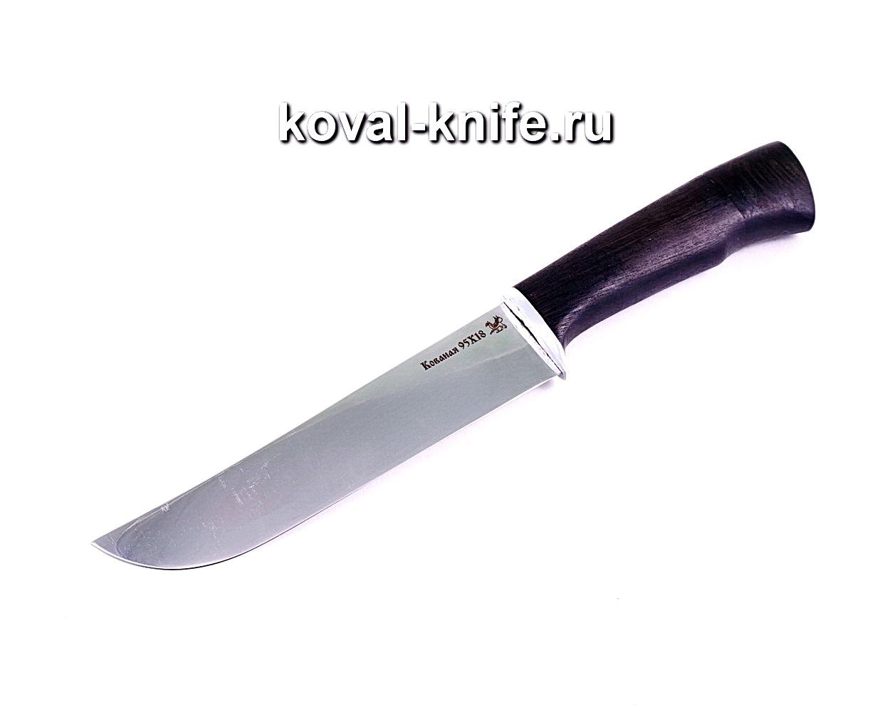 Нож Узбек (сталь 95х18), рукоять граб A005