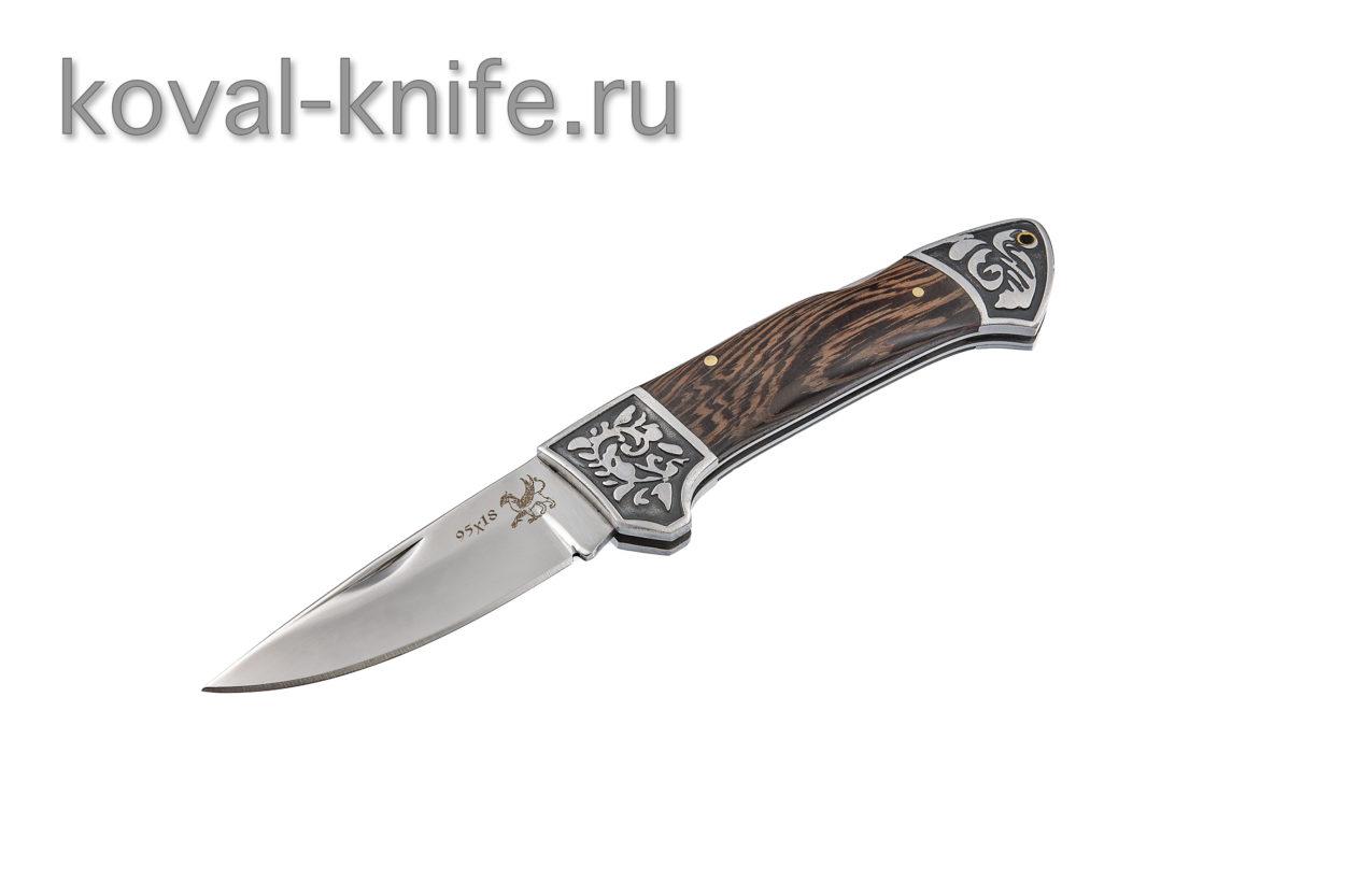 Складной нож из стали 95х18 А669