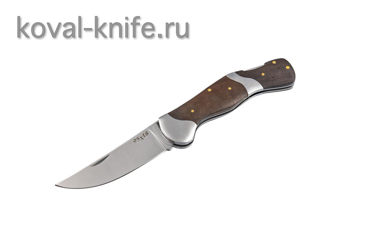 Складной нож из стали 95х18 А671
