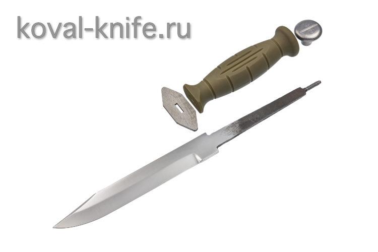 Комплект для ножа НР-40 (клинок кованая 95х18 3,5мм, гарда, тыльник, рукоять пластик)
