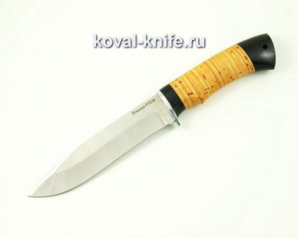 Нож Олимп из стали 95х18 с рукоятью из бересты