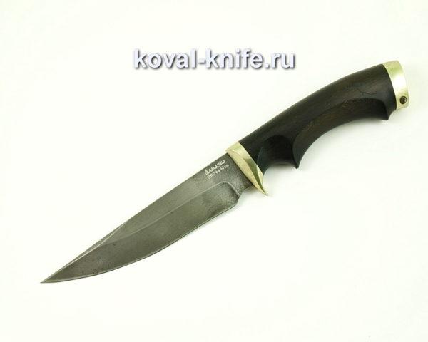 Нож Лис из Алмазной стали ХВ5 с рукоятью из граба