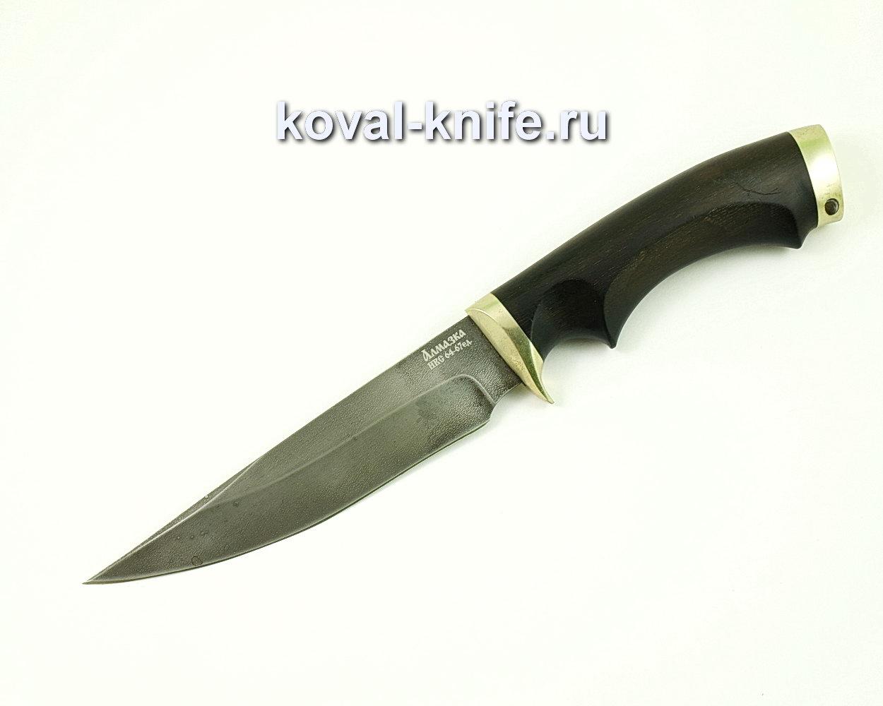 Нож Лис из Алмазной стали (ХВ5, рукоять граб) A419