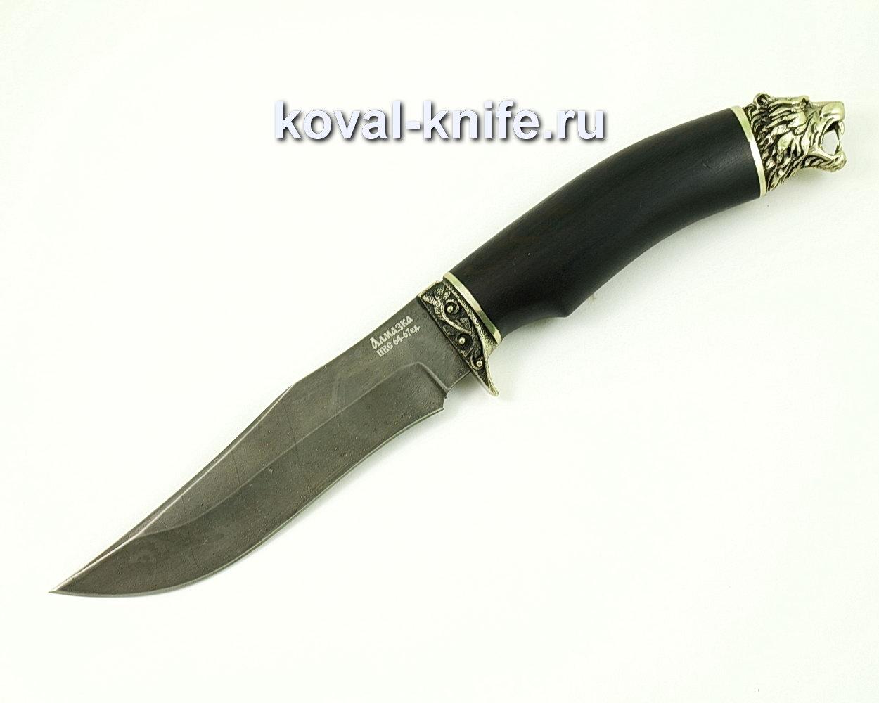 Нож Пират из Алмазной стали (ХВ5, рукоять граб) A420