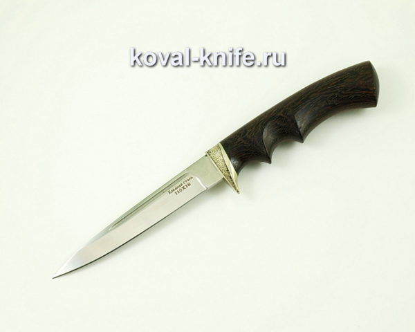 Нож Коготь из стали 110х18 с рукоятью из граба