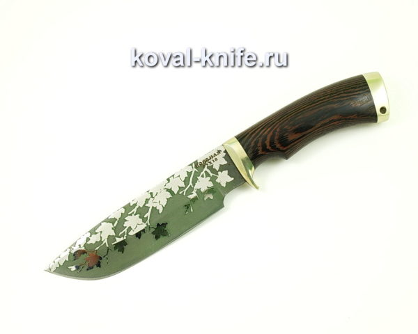Нож Барс из стали 95х18 с рукоятью из венге